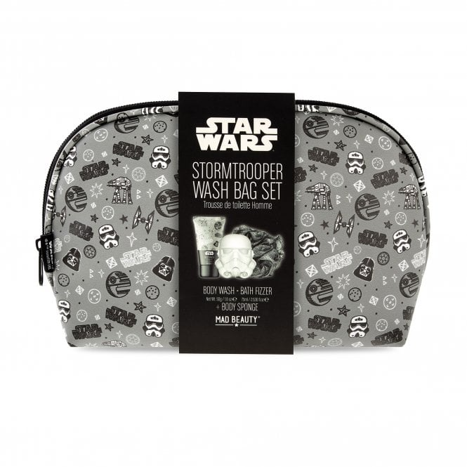 Star Wars Toiletry bag with Body wash, fizzer and puff