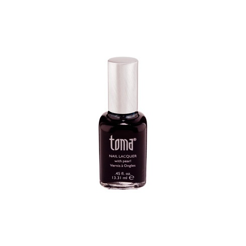 Toma by MAD Beauty TBB Toma Nail Polish - Black on Black