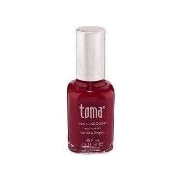 TCD 17 Toma Nail Polish - Merlot