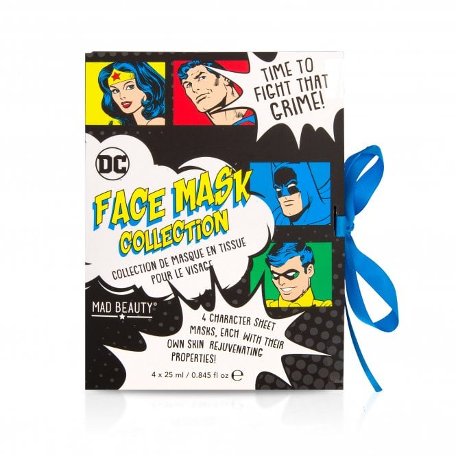 Warner Brothers DC Facemask Booklet