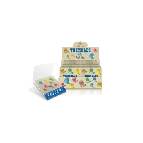 Wiscombe Art Thimble Matchbox Emery Board
