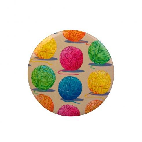 Wiscombe Art Wool Ball Vanity Mirror - 1pc